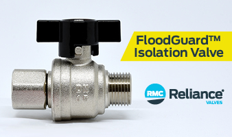 Introducing the new FloodGuard Isolation Valve