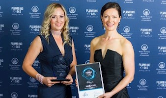 Female Plumber Recognised at Leading Industry Awards