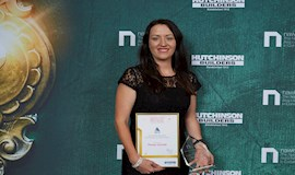 22 October 2018 - Female Leader Awarded for Achievements as a Business Woman in the Construction Industry