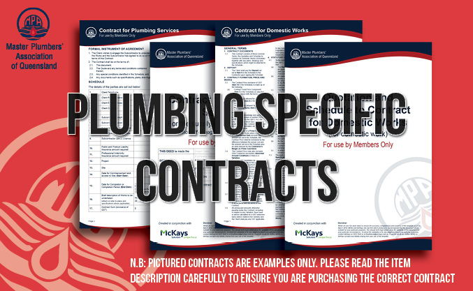 Work Contract - Contract for Plumbing Services
