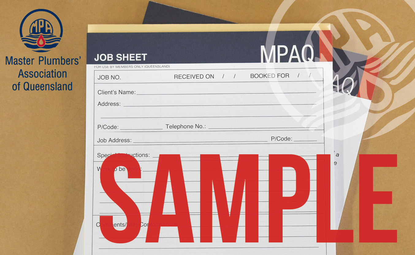 Job Sheets – A5 Size