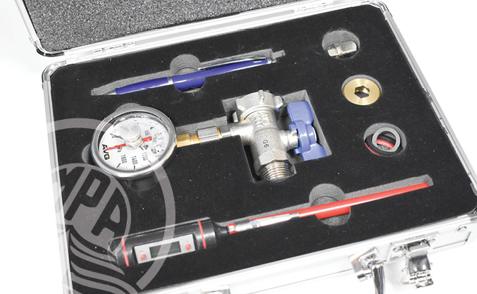 Contents of the Backflow Test Kit